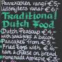 Dutch menu