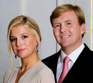 Prins Willem-Alexander and Princess Máxima
