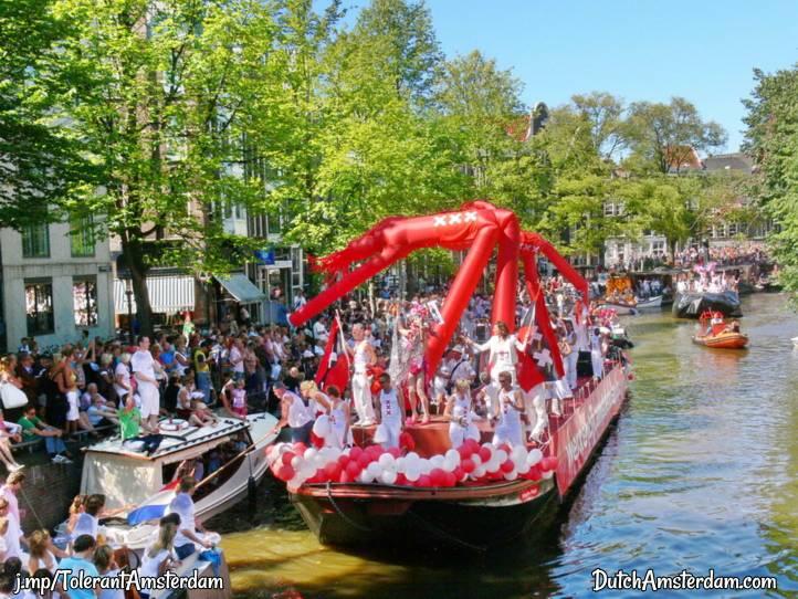 Gay Pride Parade, Amsterdam