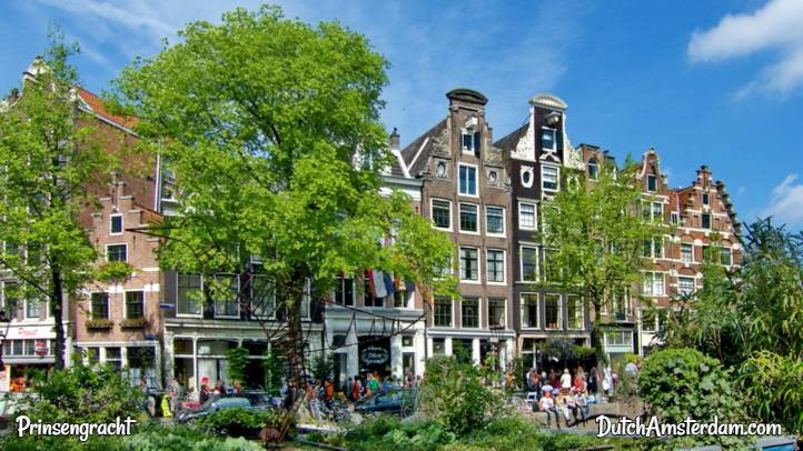 Prinsengracht canal Amsterdam