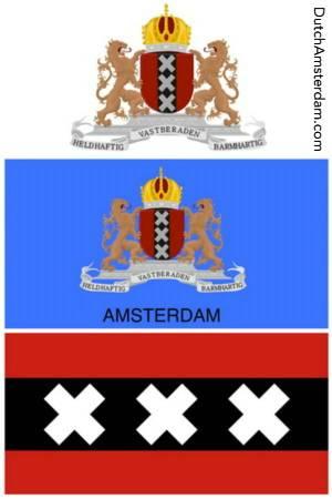 Amsterdam seal flag