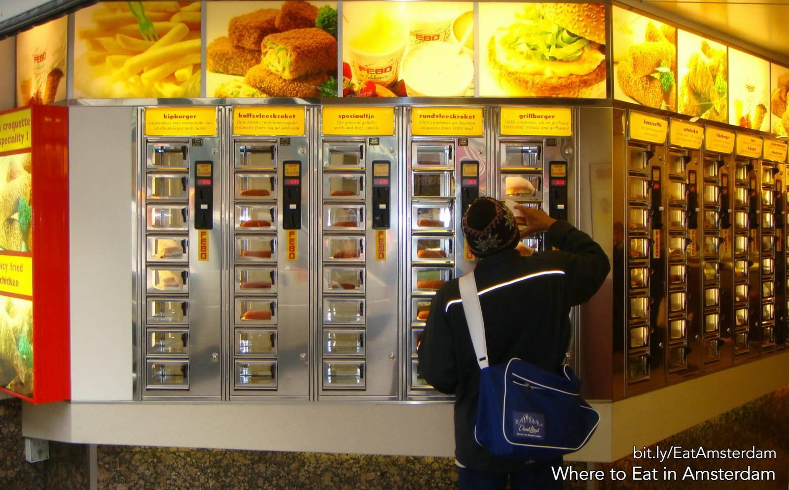 amsterdam FEBO fast food