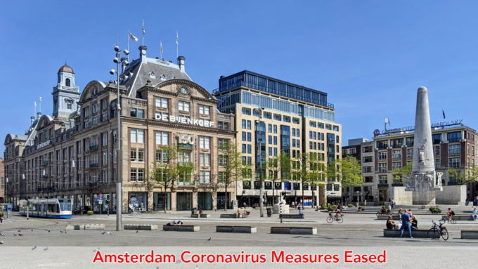 Amsterdam coronavirus lockdown measures eased