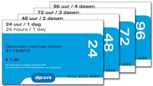 Amsterdam Public Transport Tickets
