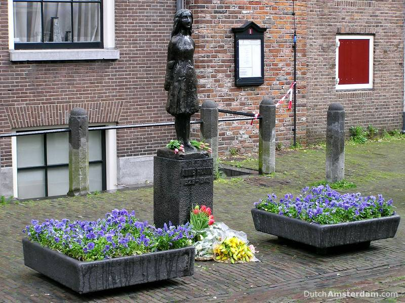Anne Frank Monument.