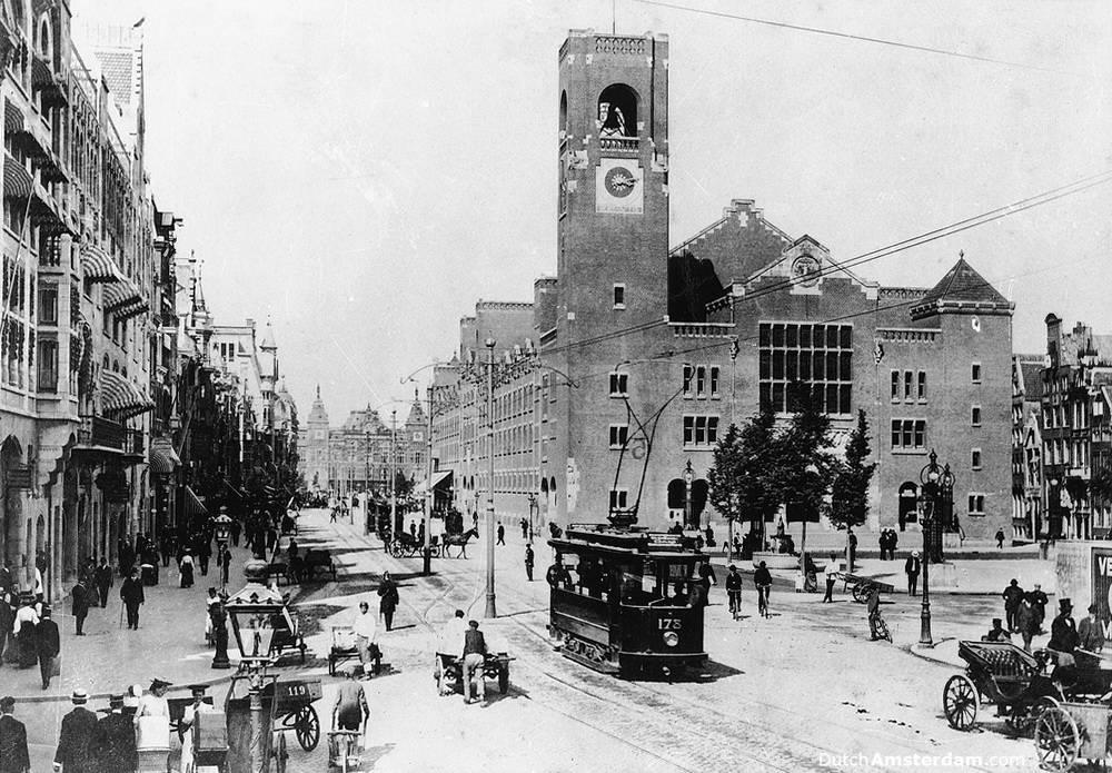 Beurs van Berlage, Amsterdam's old stock market