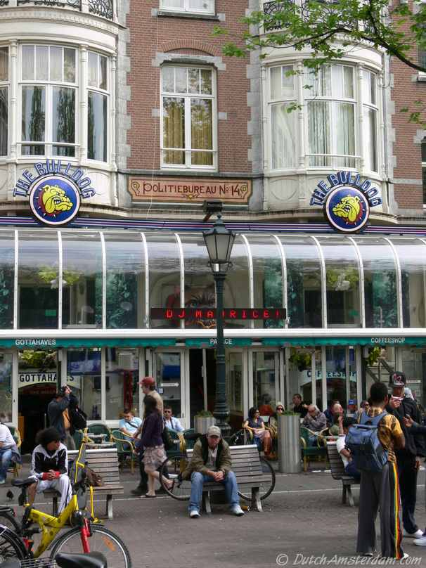 Coffeeshop Bulldog, Leidseplein, Amsterdam